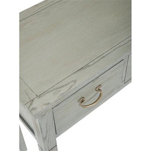 Safavieh Cindy 3-Drawer Rectangular Whitewash Console Table
