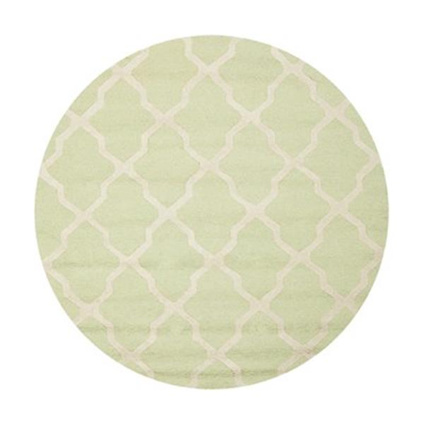 Safavieh Cambridge Light Green and Ivory Area Rug,CAM121B-6R