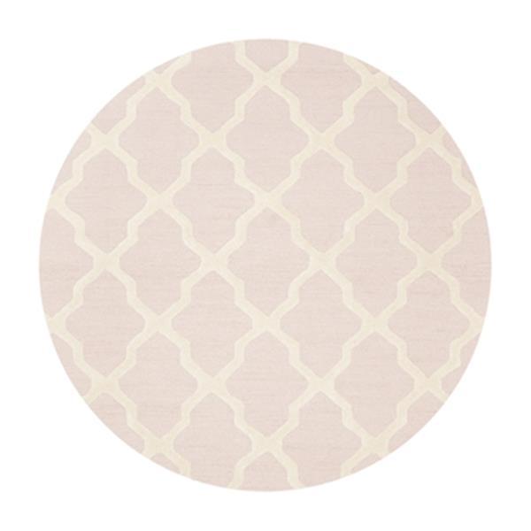 Safavieh Cambridge Light Pink and Ivory Area Rug,CAM121M-6R