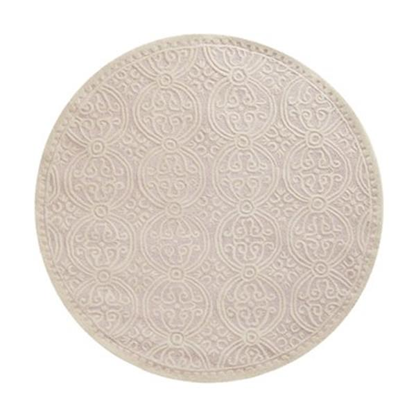 Safavieh Cambridge Light Pink and Ivory Area Rug,CAM123M-6R