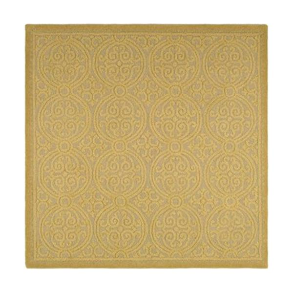 Safavieh Cambridge Light Gold and Dark Gold Area Rug,CAM233A