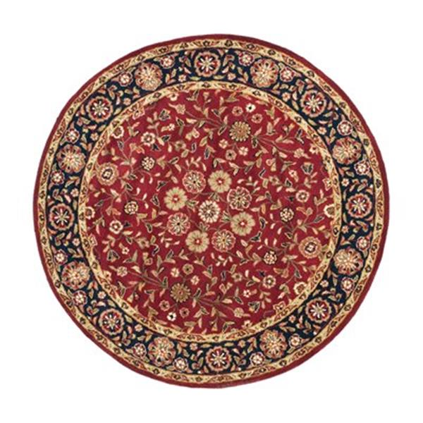 Safavieh HG966A Heritage Area Rug, Red / Navy,HG966A-6R