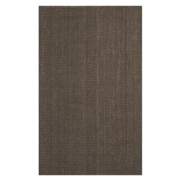 Safavieh Natural Fiber 6-ft x 9-ft Brown Area Rug