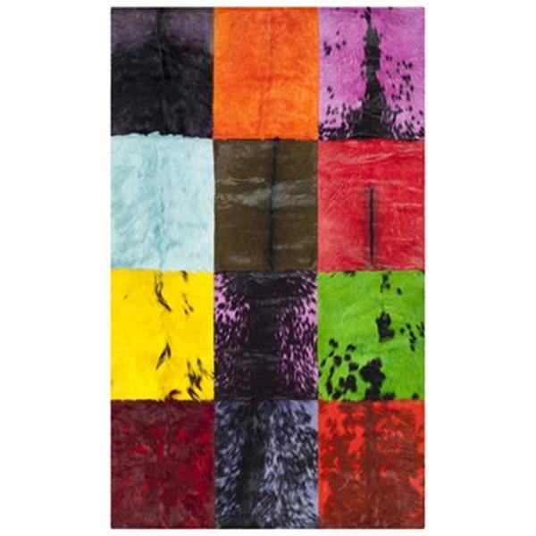 Safavieh Studio 3-ft x 5-ft Black and Multi-Colour Area Rug
