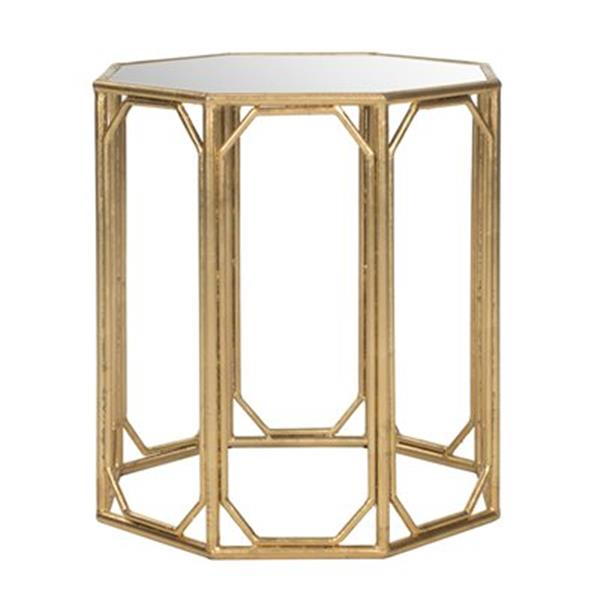 Safavieh Muriel 17.5-in Gold Accent Table