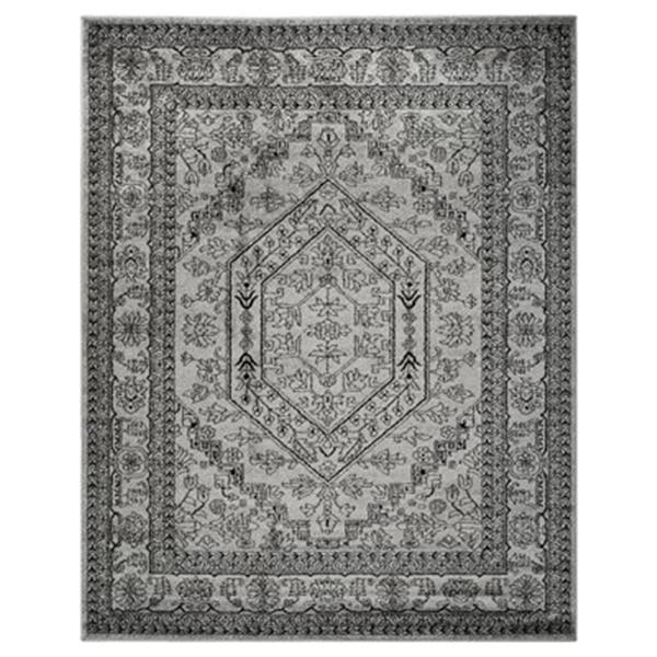 Safavieh Adirondack 8-ft x 10-ft Silver and Black Area Rug