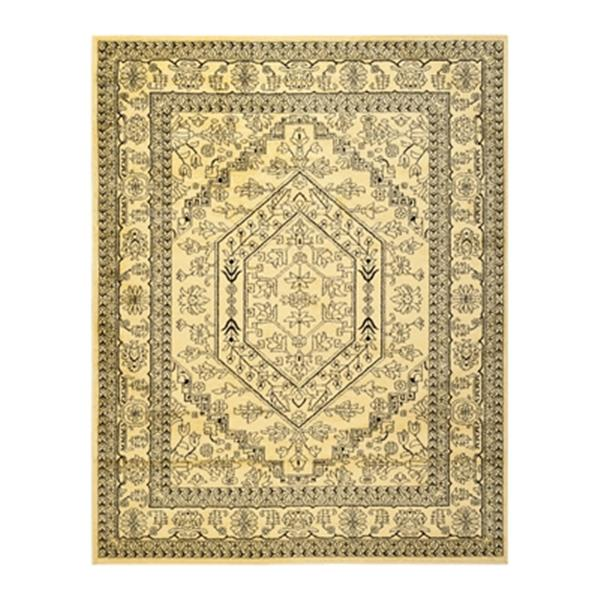 Safavieh Adirondack 8-ft x 10-ft Gold and Black Area Rug