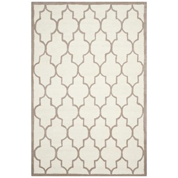 Safavieh Cambridge 6-ft x 9-ft Ivory and Beige Rug