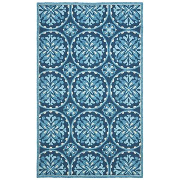 Safavieh Four Seasons 5-ft x 8-ft Blue Area Rug