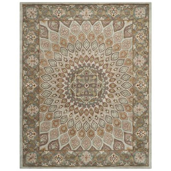 Safavieh Heritage 5-ft x 8-ft Blue and Grey Area Rug