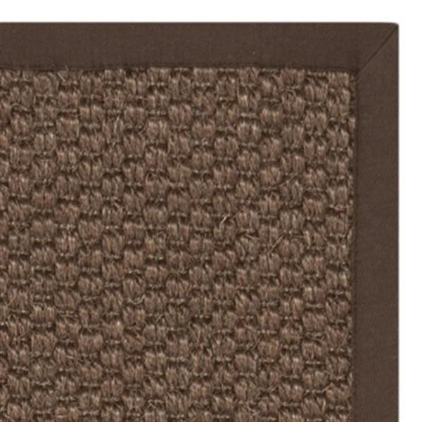 Safavieh Natural Fiber 5-ft x 8-ft Chocolate Area Rug