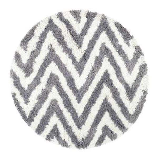 Safavieh Shag 5-ft x 8-ft Ivory and Grey Area Rug