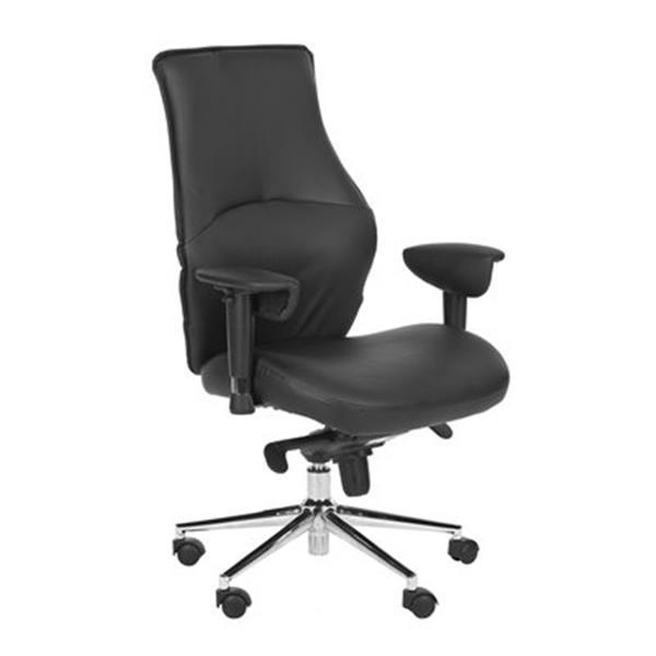 Safavieh 45.3-in Black Irving Desk Chair