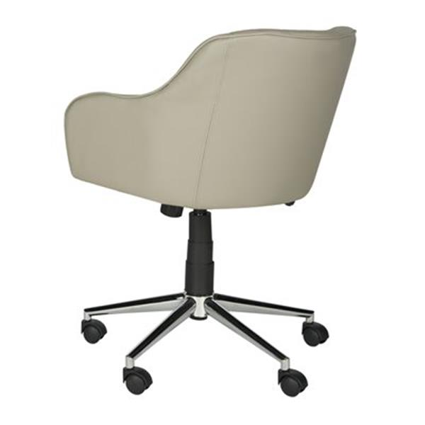 Safavieh Fox 20.9-in Grey Hilda Desk Chair
