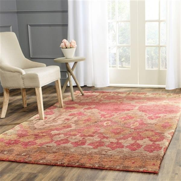 Safavieh Bohemian 4-ft x 6-ft Natural and Gold Area Rug