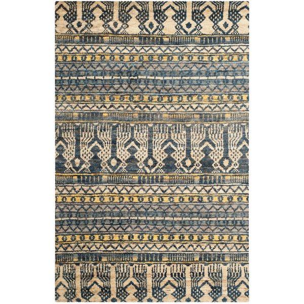 Safavieh Bohemian 4-ft x 6-ft Blue Area rug
