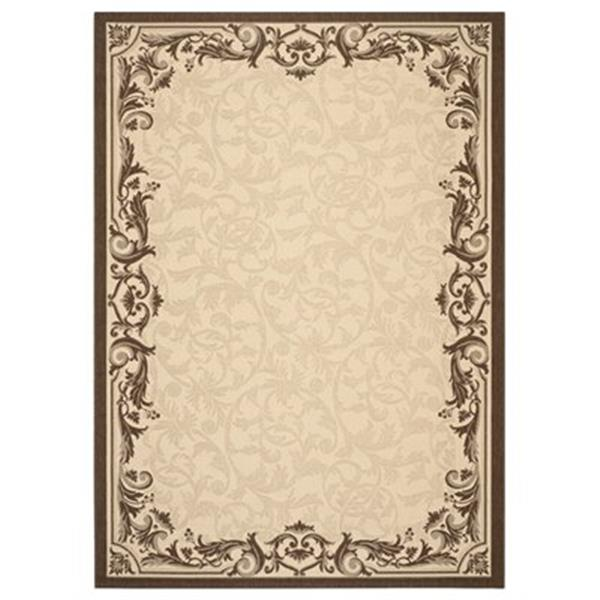Safavieh Courtyard 11 ft x 8 ft   Natural and Olive Area Rug