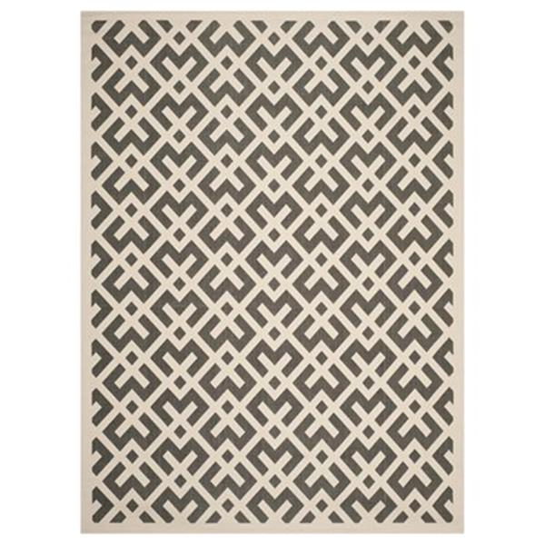 Safavieh Courtyard 11-ft X 8-ft Cream Area Rug