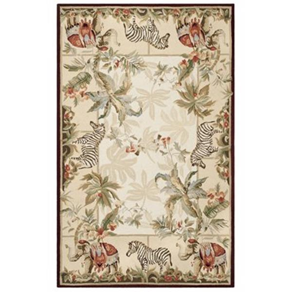Safavieh Chelsea 5-ft x 8-ft Ivory and Beige Area  Rug