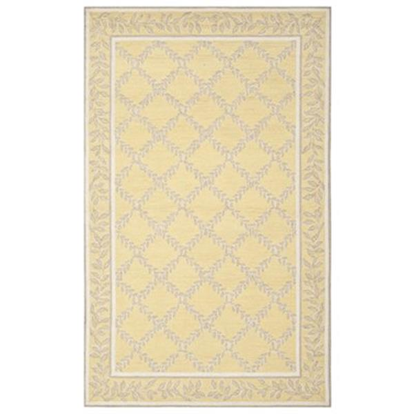 Safavieh Chelsea 5-ft x 8-ft Yellow and Grey Area Rug
