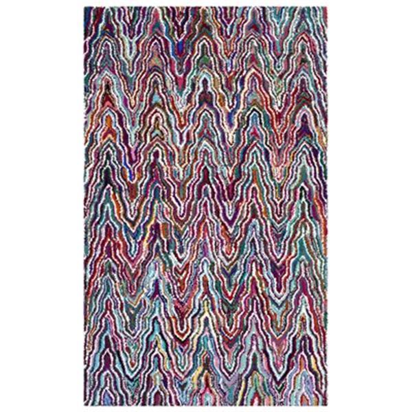 Safavieh Nantucket 5-ft x 8-ft Multi-Colour Area Rug