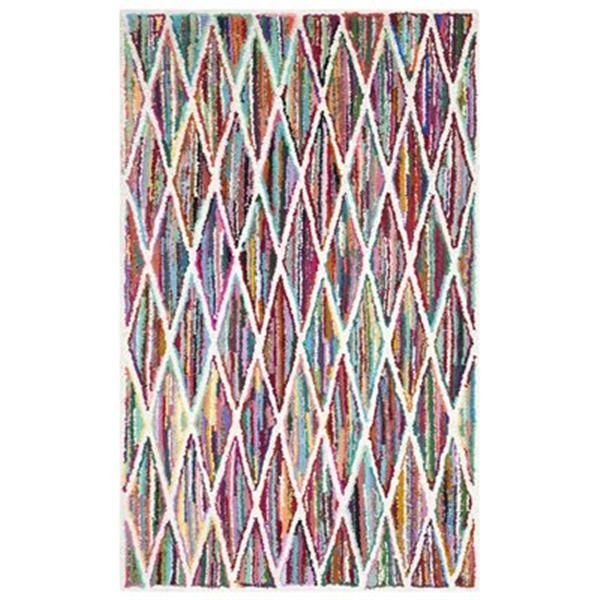 Safavieh Nantucket 8-ft x 5-ft Multicolour Area Rug