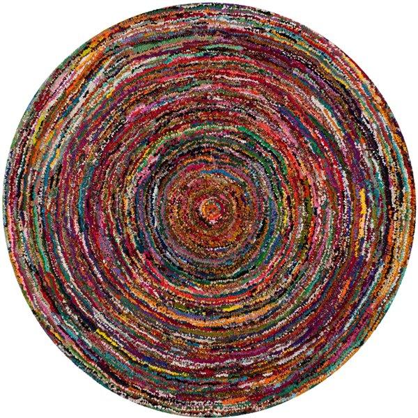 Safavieh Nantucket 6-ft Multicolour Area Rug
