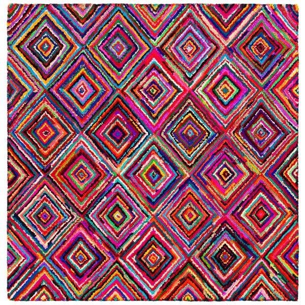 Safavieh Nantucket 6-ft x 6-ft  Multicolour Area Rug