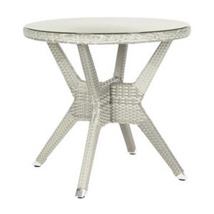 Safavieh 28.30-in Grey Langer Round Accent Table