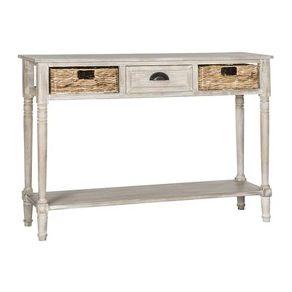 Safavieh American Home Christa 3-Drawer Winter Melody Vintage Console Table