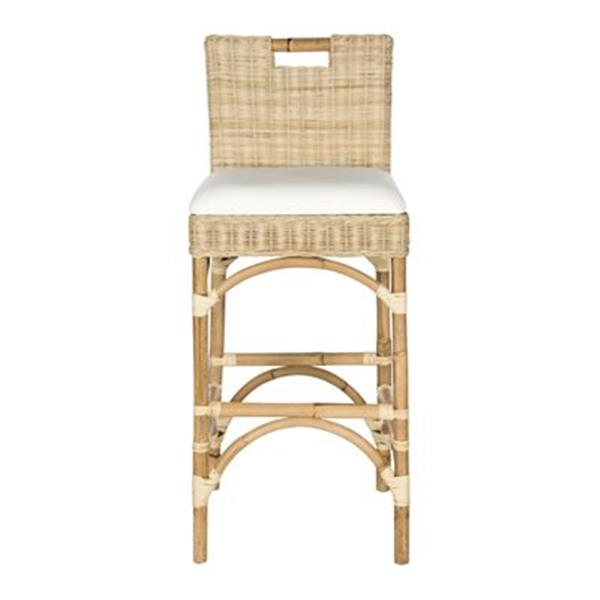Safavieh Fox Fremont 36-in Natural Bar Stool