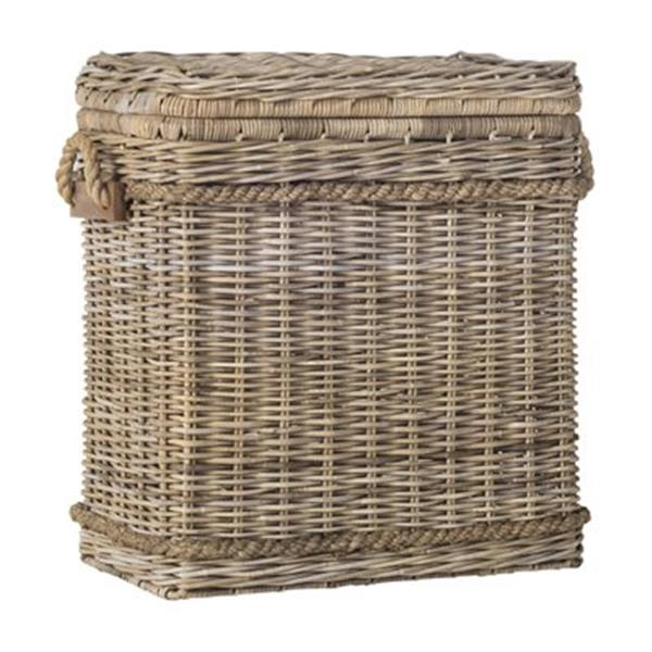 Safavieh Southeast Asia 27.50-in x 13.70-in Natural Wicker Sidonie Trunk