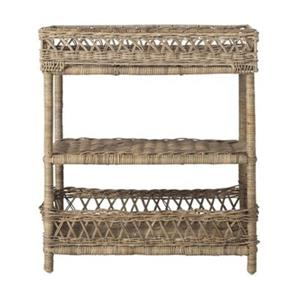 Safavieh Southeast Asia 27.5-in x 23.6-in Brown Ajani 3 Tier Rack