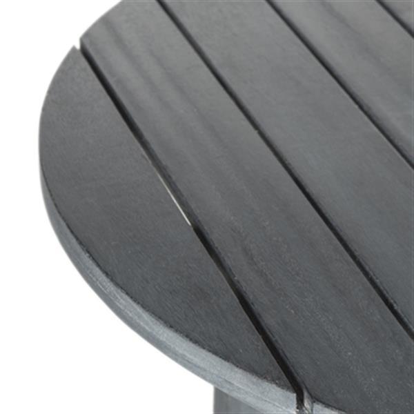 Safavieh 29.10-in Warm Grey Cloverdale Round Table