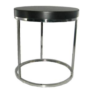 Safavieh Couture 21.7-in Silver Turner Round End Table