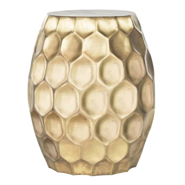 Safavieh Roxanna 21.75-in Gold Side Table