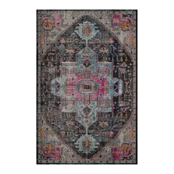 Safavieh Artisan 7-ft x 9-ft Black and Light Grey Area Rug