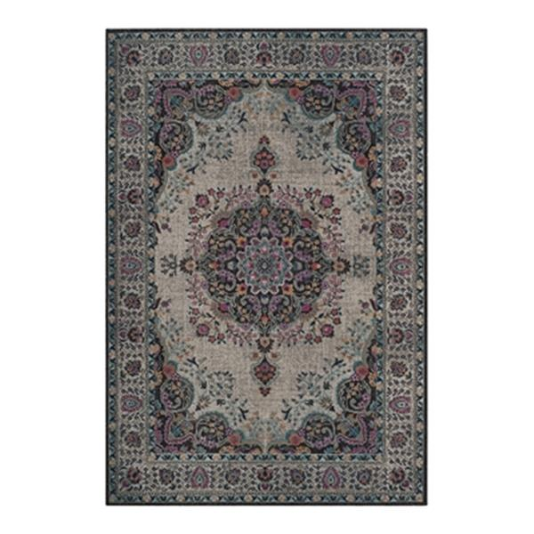 Safavieh Artisan 7-ft x 9-ft Light Grey and Black Area Rug