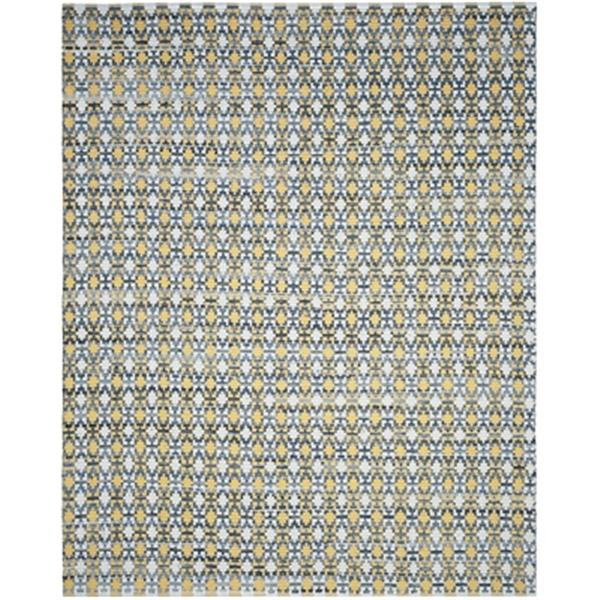 Safavieh Montauk 8-ft x 10-ft Flat Weave Gold Multicolour Area Rug