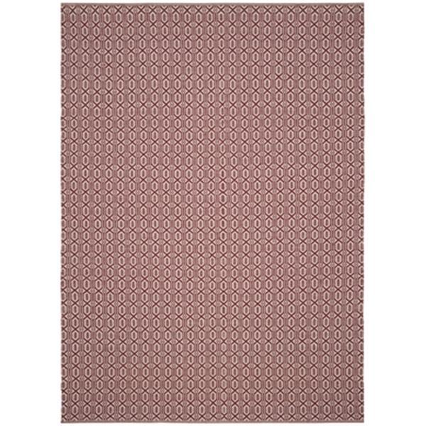 Safavieh Montauk 8-ft x 10-ft Red Flat Weave Area Rug