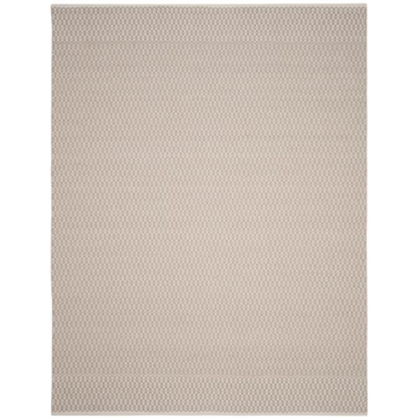 Safavieh Montauk 8-ft x 10-ft Grey Flat Weave Area Rug