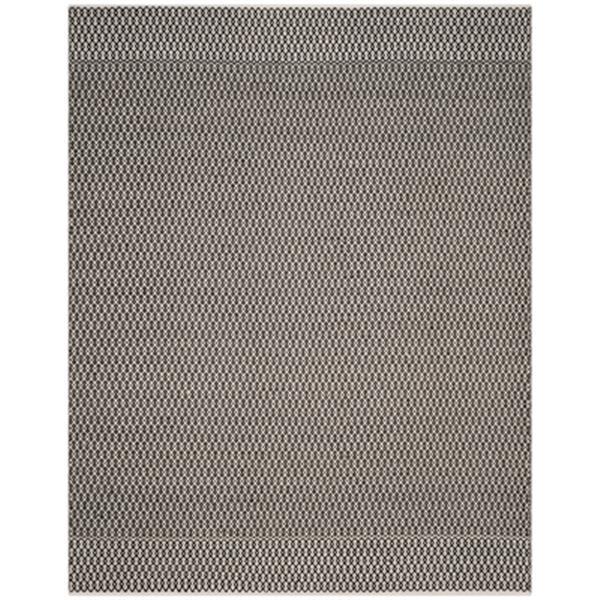 Safavieh Montauk 8-ft x 10-ft Black Flat Weave Area Rug