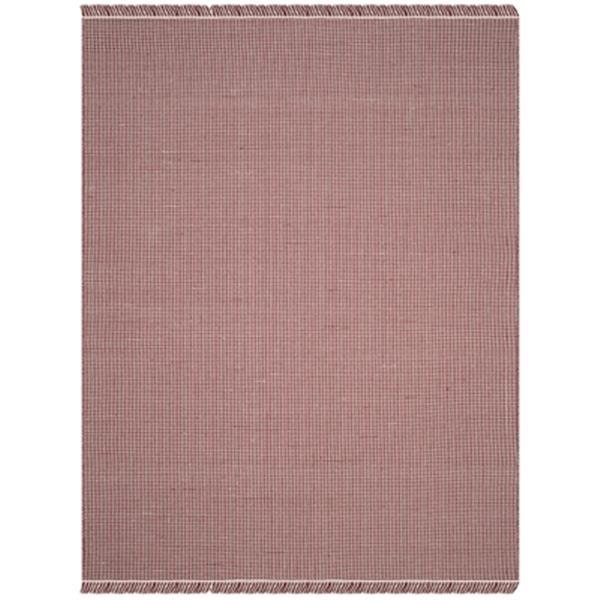 Safavieh Montauk 8-ft x 10-ft Red Flat Weave Area Rug