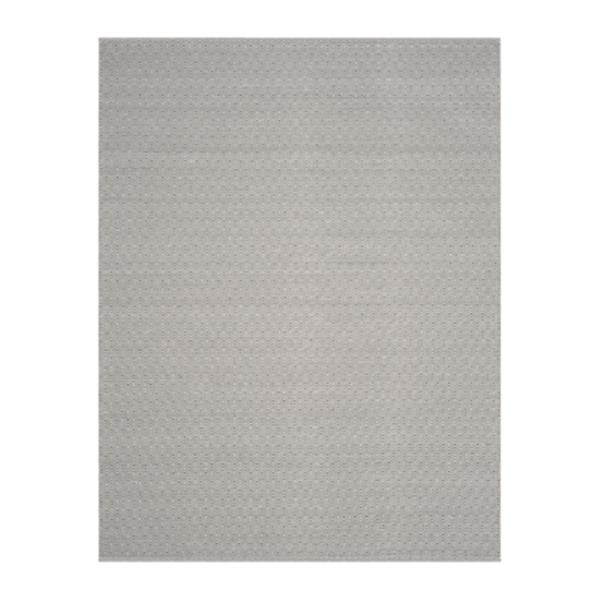 Safavieh Montauk 8-ft x 10-ft Flat Weave Ivory and Grey Area Rug