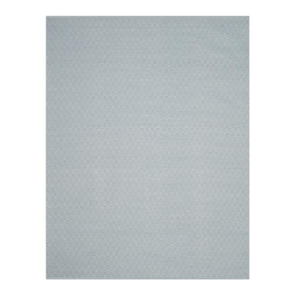 Safavieh Montauk 8-ft x 10-ft Flat Weave Ivory and Light Blue Area Rug