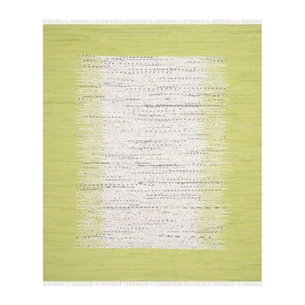 Safavieh Montauk 8-ft x 10-ft Flat Weave Ivory and Olive Area Rug