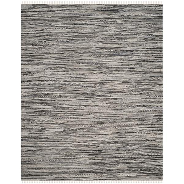 Safavieh Rag Rug 8-ft x 10-ft Cotton Grey Indoor Area Rug