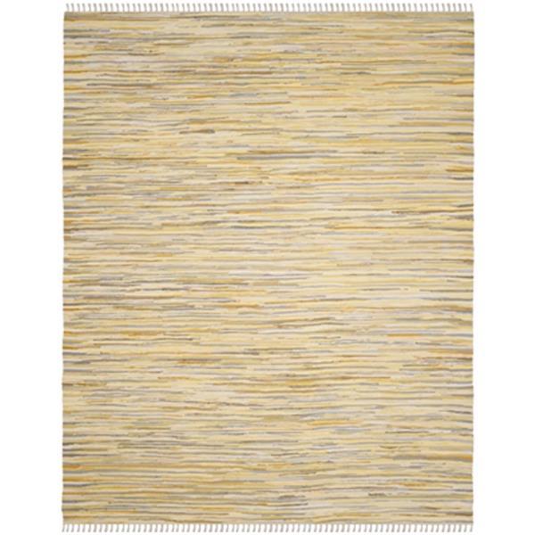 Safavieh Rag Rug Cotton Gold Multicolor Indoor Area Rug,RAR1