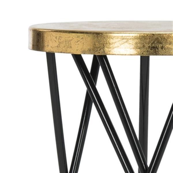 Safavieh Lorna 30-in Gold Leaf Barstool