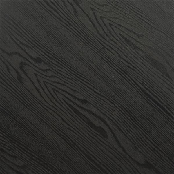 Safavieh Roper 15.8-in Black Retro Mid Century Wood End Table